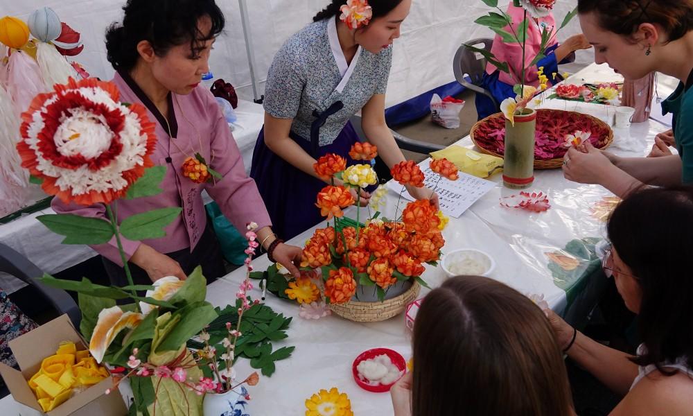 전통문화마당