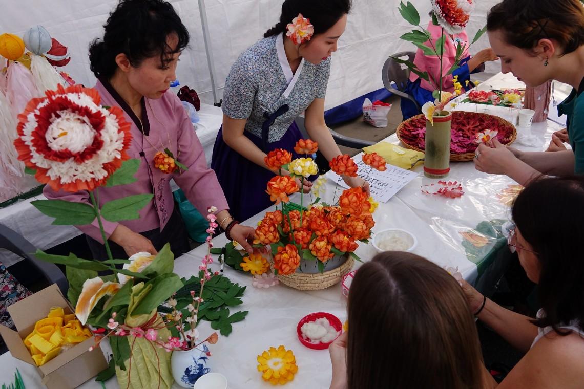 传统文化园游会